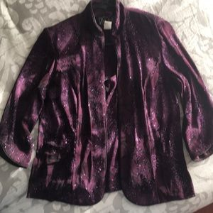 2-piece evening jacket and top